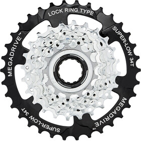 SunRace MFM4S Screw Ring 7-speed zink